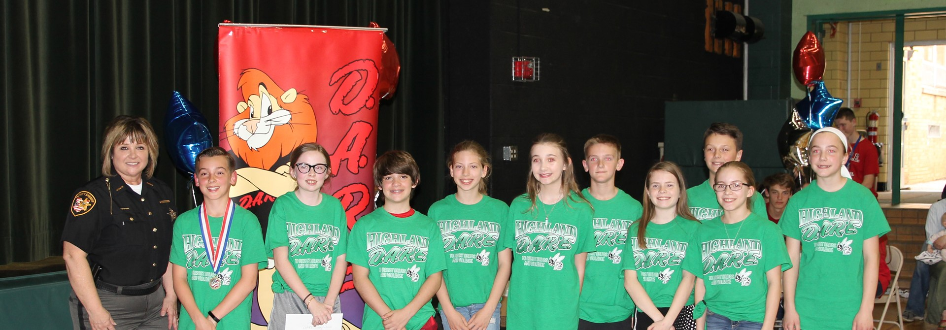 5th Grade DARE Essay Contest Winners