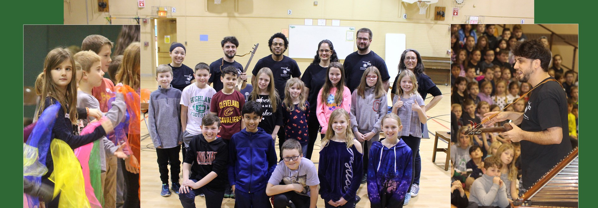 Apollo's Fire Orchestra Visits Granger Elementary