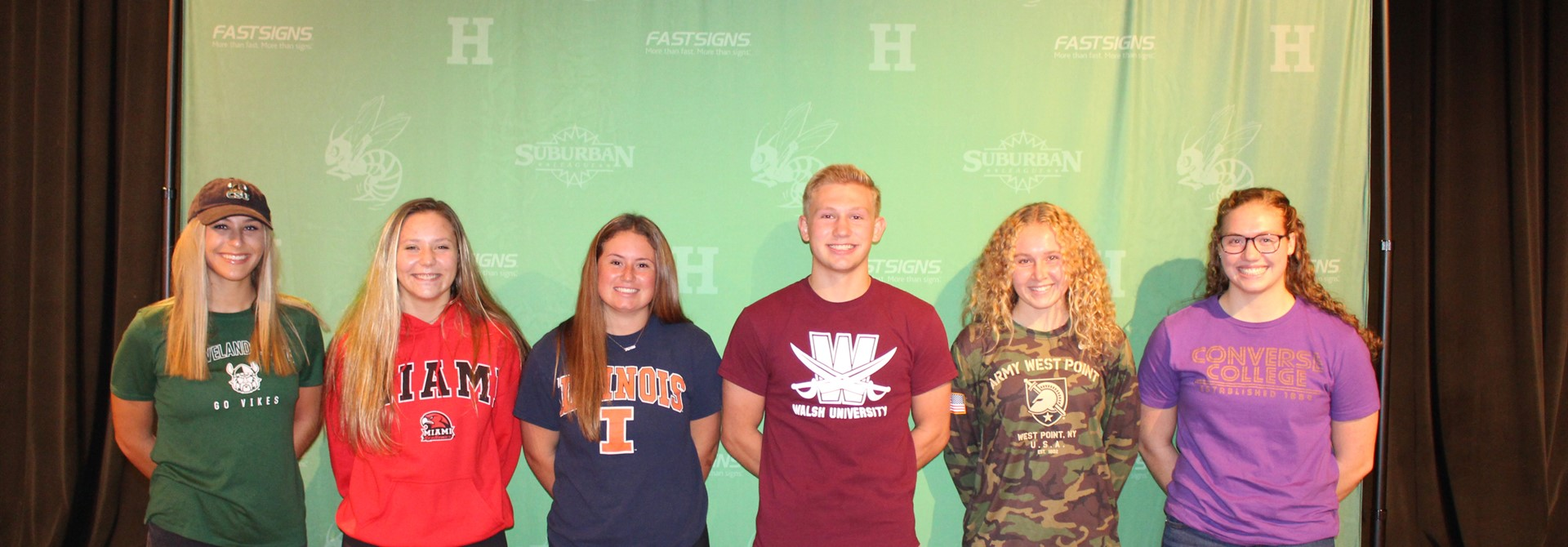 College Signing Day! Congrats HHS Student-Athletes!