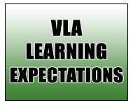 VLA Learning Expectations