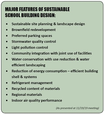 Sustainable Features List