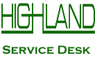 Highland Service Desk Logo