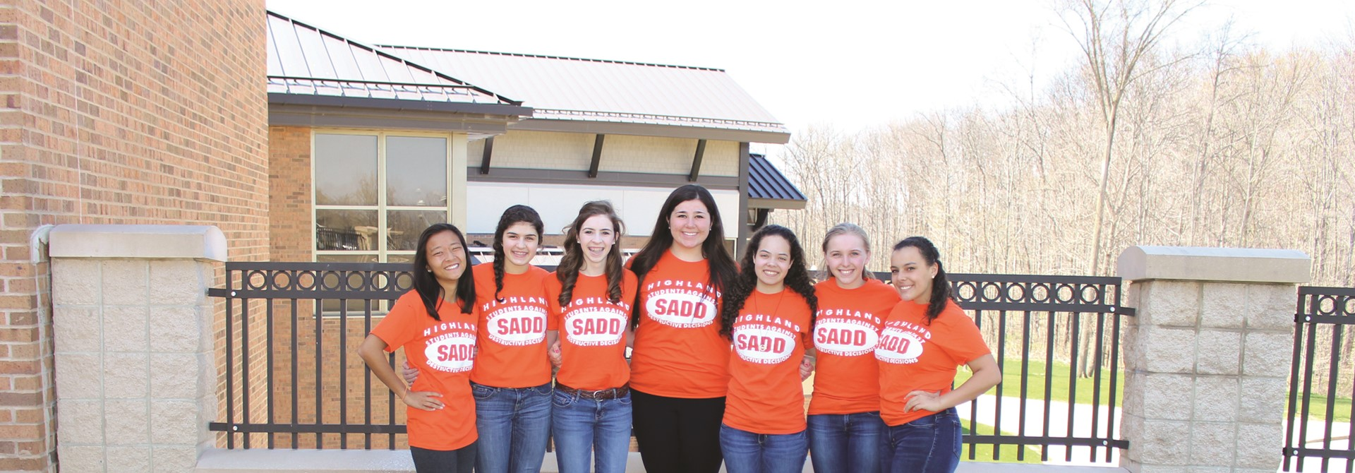 Highland High School SADD Members
