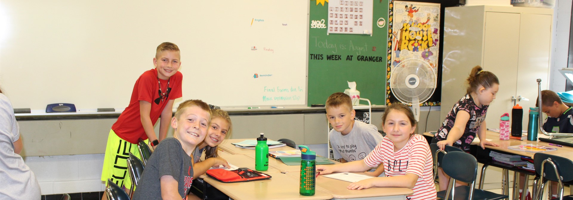 Granger Students in the Classroom