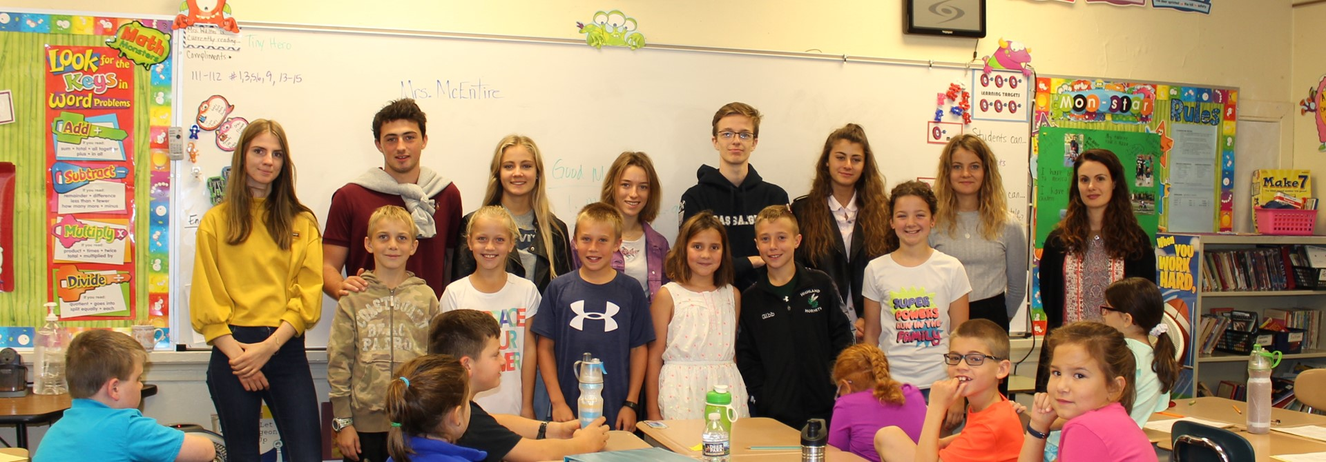 French Students Visit Granger