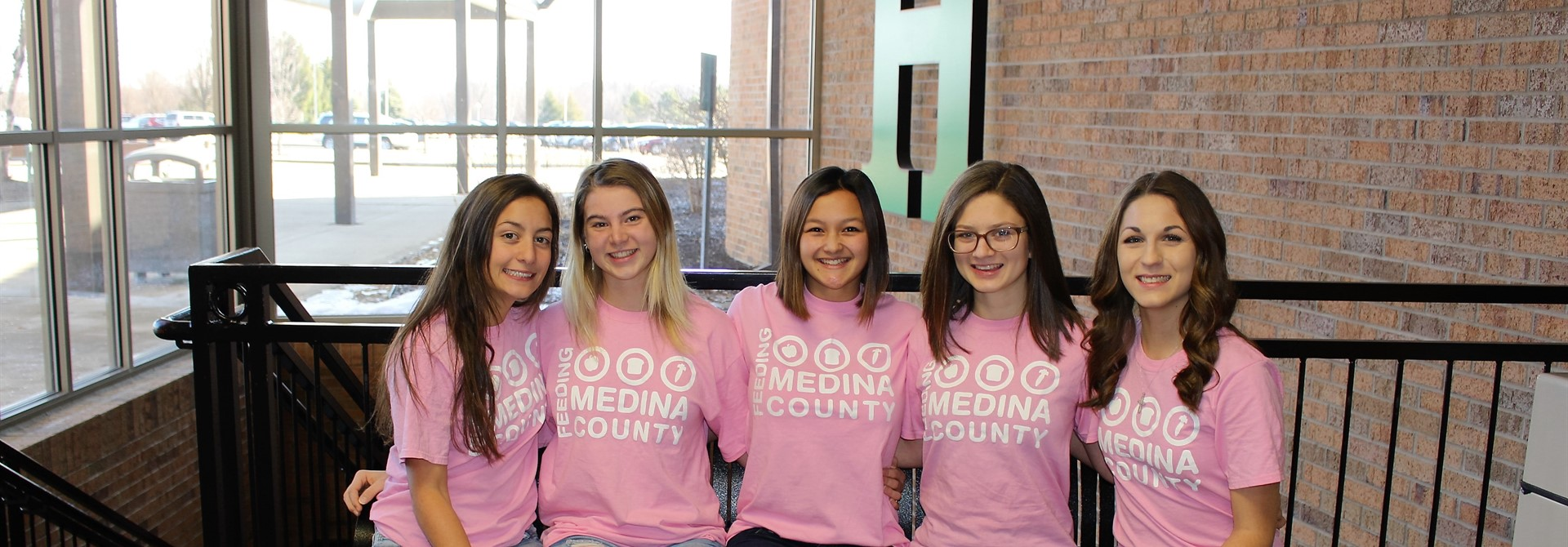 From left Annamarie DiGiacobbe, Kaila Oberhaus, Bethany Yu, Brianna Kean and Olivia Severyn.