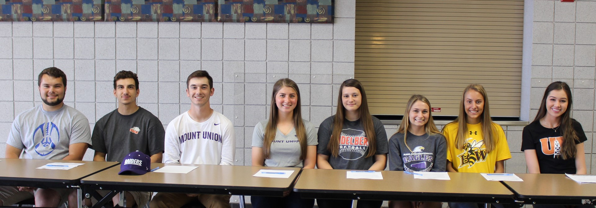 HHS Athletes are College-Bound