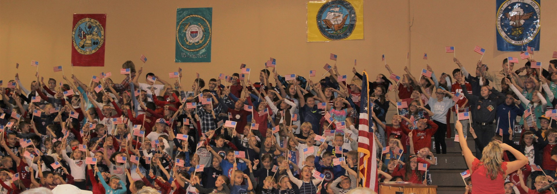 Granger Veterans Day Assembly
