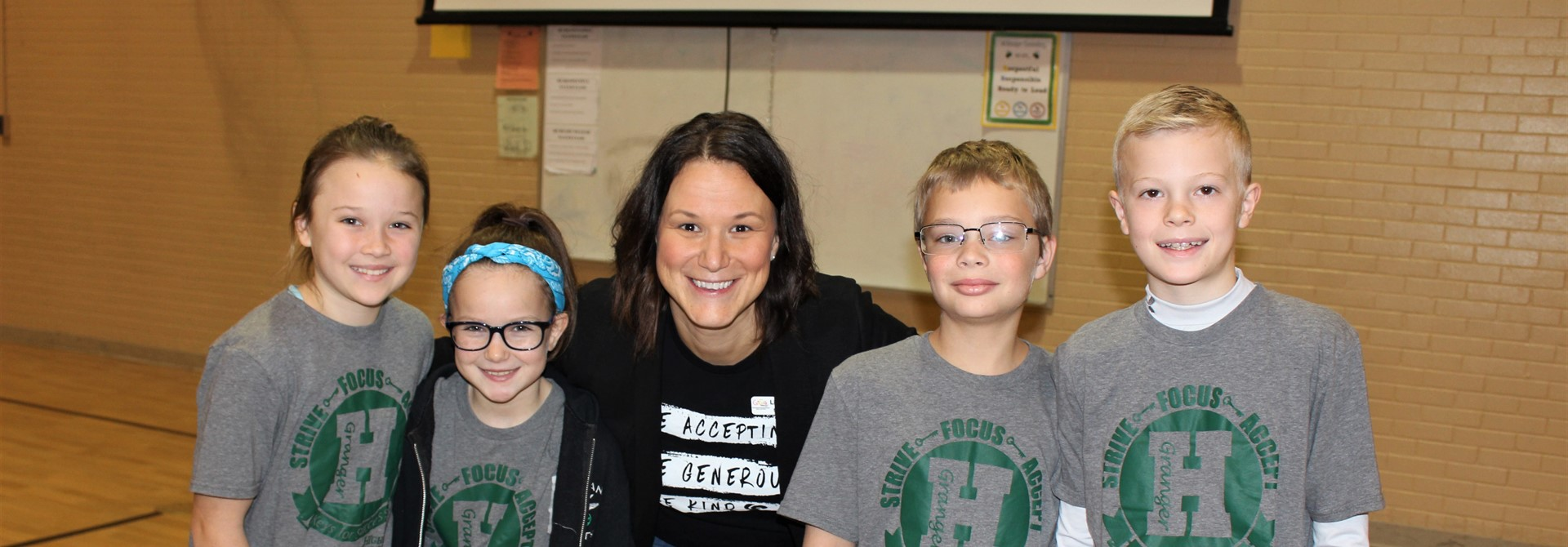 Lizz Maxwell, Director of GiGi's Playhouse, Visits Granger Elementary