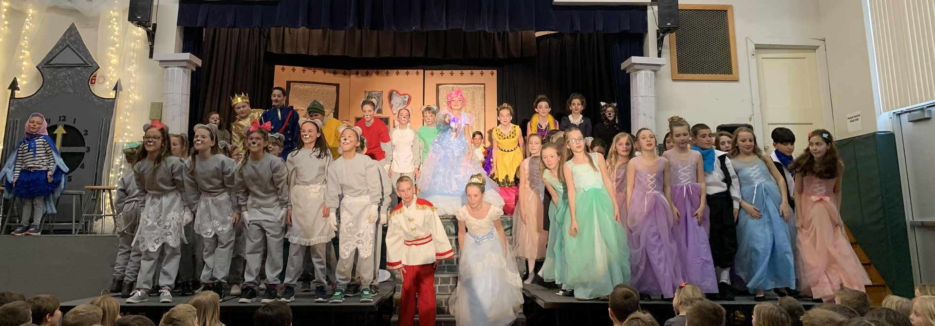 Sharon PTO Student Production of 'Cinderella'