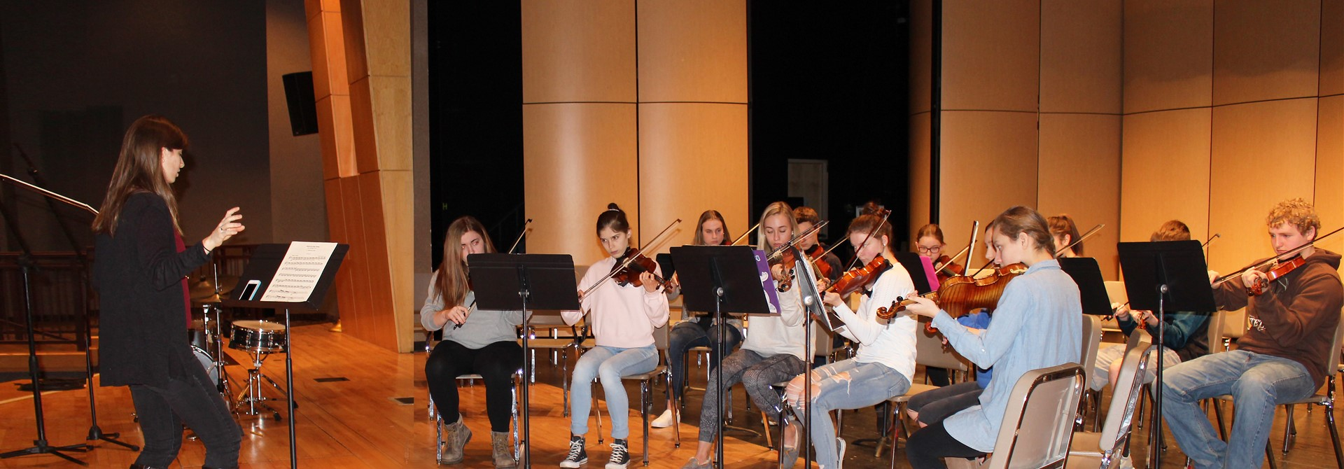 BEO Strings Residency at Highland High School